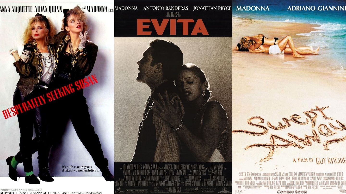 "Ranking Madonna's Films: From the Best to...Um, ""Swept Away"" 