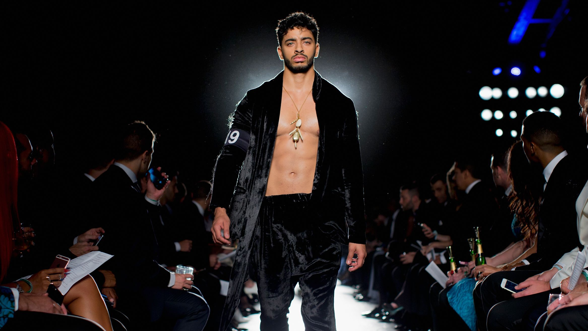 Model Laith Ashley Thirst Traps in Teeny Tiny Briefs | NewNowNext