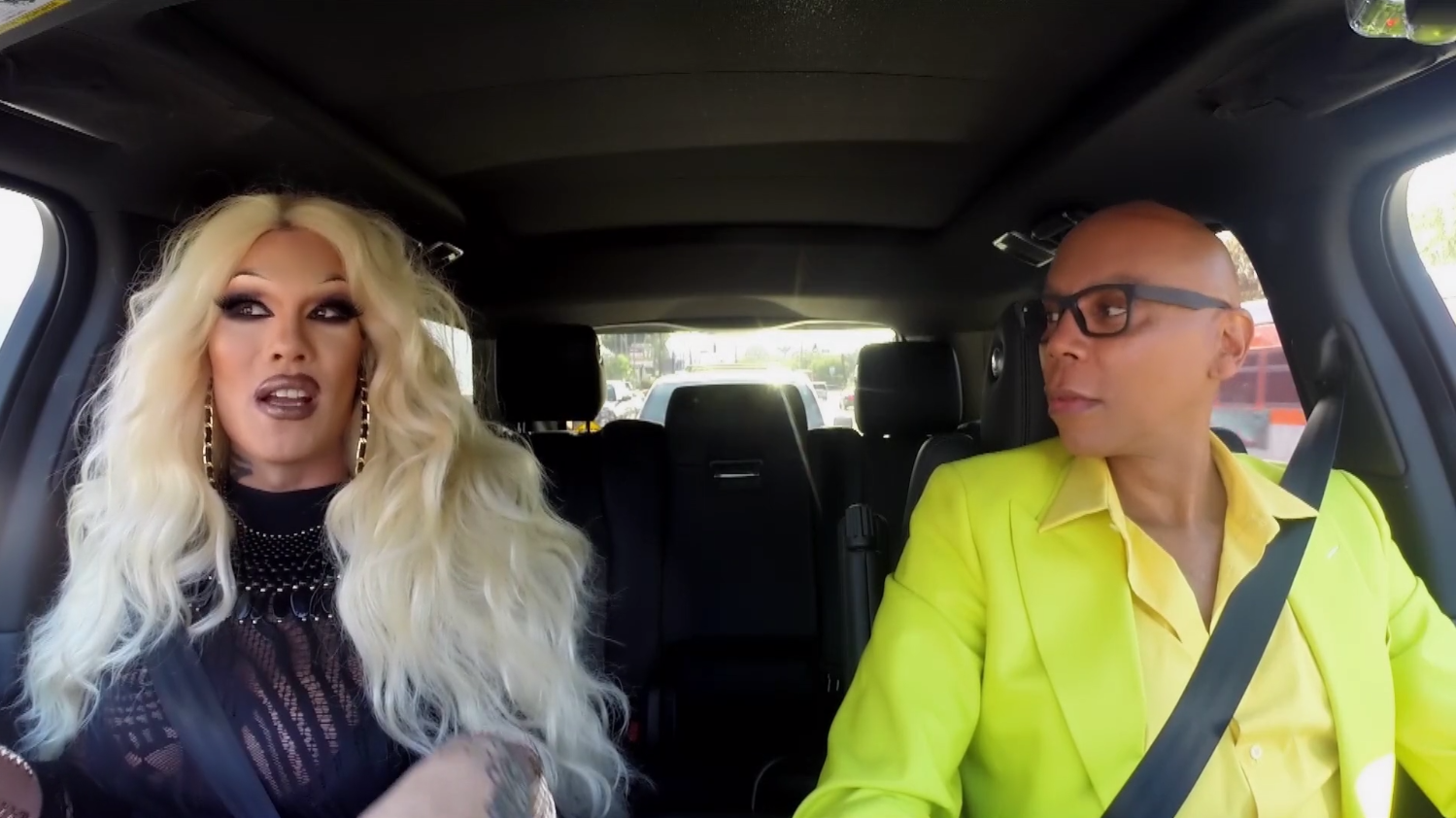 interview drag queen carpool kimora blac rupaul s mtv hits logo png mtv logo png image